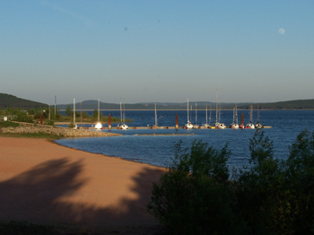 großer brombachsee camping